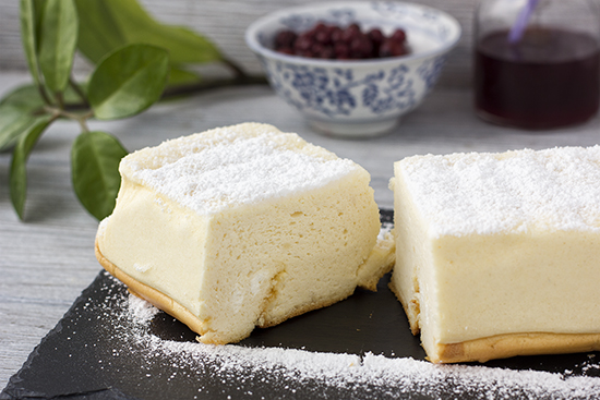 Soft Cotton Cheesecake