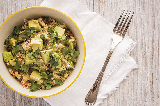 Cuscus-avocado Salad