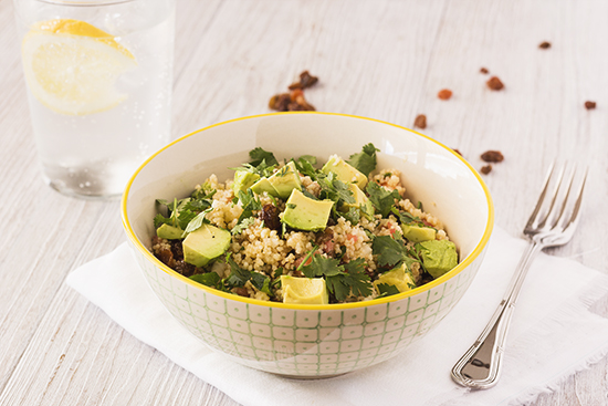 Cuscus-avocado Salad